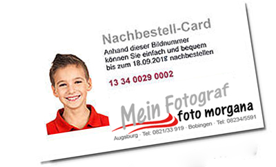 Nachbestell-Card